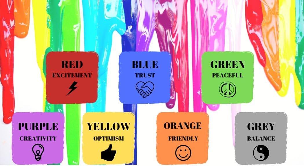 Colora il tuo brand usando la testa colori e emoozioni