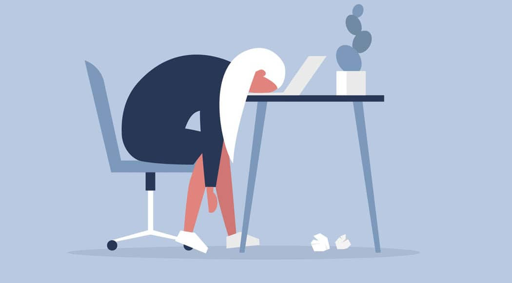 Smart working - Togethere blog - tired woman