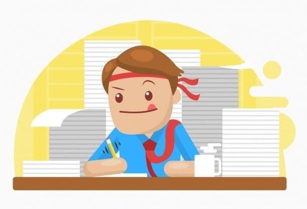 SSmart working - Togethere blog businessman working hard