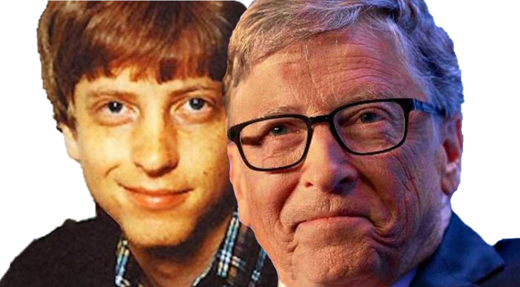 Bill Gates - ieri e oggi - Togethere web - Blog
